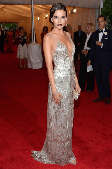 Camilla Belle in Ralph Lauren
